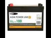 Batería AGM  100 Amp Inovtech Powerline. ESPEC...